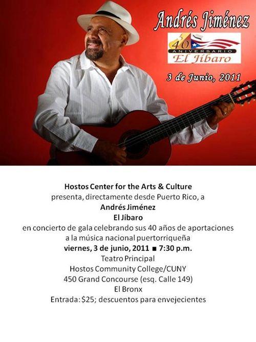 Andres Jimenez Concert
