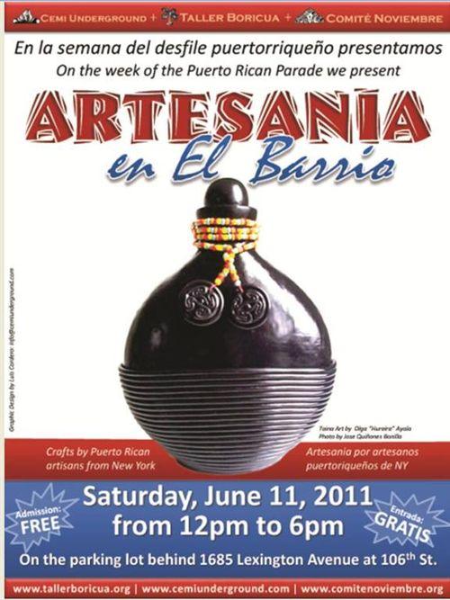 Artesania in El Barrio 2011
